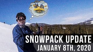 Colorado Snowpack Update - January 8, 2020