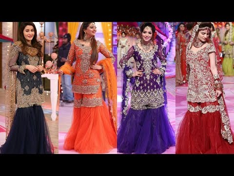 Latest sharara/gharara suits for wedding functions#Latest Pakistani Sharara/ heavy dresses