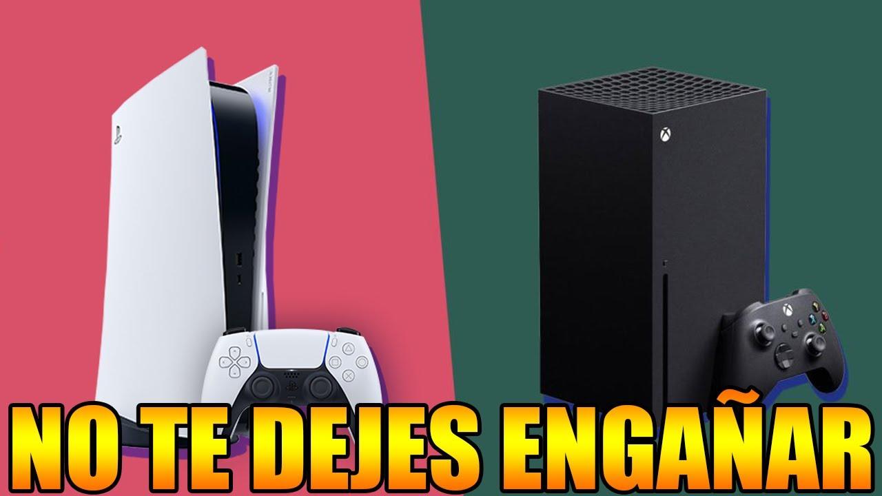 NO TE DEJES ENGAÑAR POR PS5 Y XBOX SERIES X TIENES QUE SABER ESTO