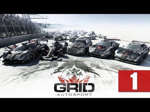 "Grid Autosport - Let's Play - [Career] - Part 1 - ""Introductory Race"" 