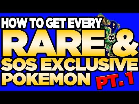 Every RARE Pokemon in Sun and Moon! (part 1) | Austin John Plays