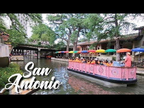 A DAY IN SAN ANTONIO - TEXAS