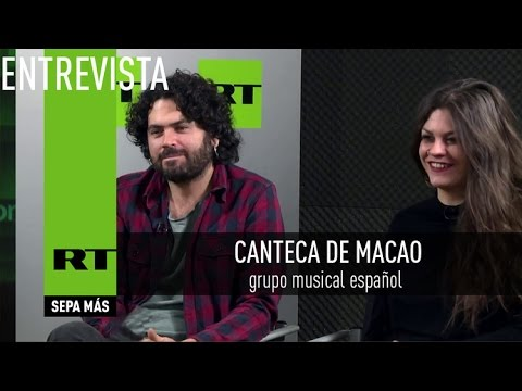 Entrevista con Canteca de Macao, grupo musical español