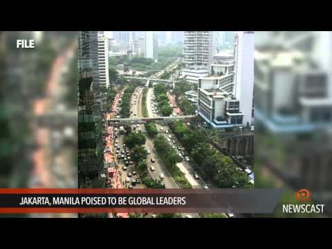 Jakarta, Manila poised to be global leaders