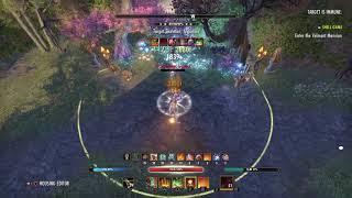 The Elder Scrolls Online: Crafted purple gear StamDK dps test 28.9k