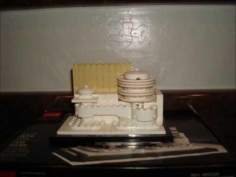 LEGO Architecture:  Solomon R. Guggenheim Museum Build