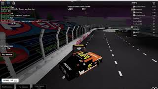 COPEHH IS HERE!!!! // ROBLOX: NASCAR The Game: Martinsville
