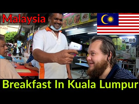 🇲🇾 LOCAL, DELICIOUS BREAKFAST IN KUALA LUMPUR MALAYSIA | MOST KIND SERVICE I'VE EXPERIENCED