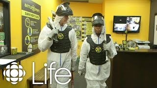 The best way to relieve aggression: the rage room   CBC Life