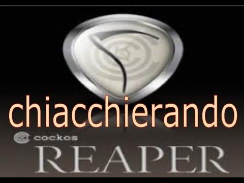 REAPER VERSIONE ITALIANO SCARICA