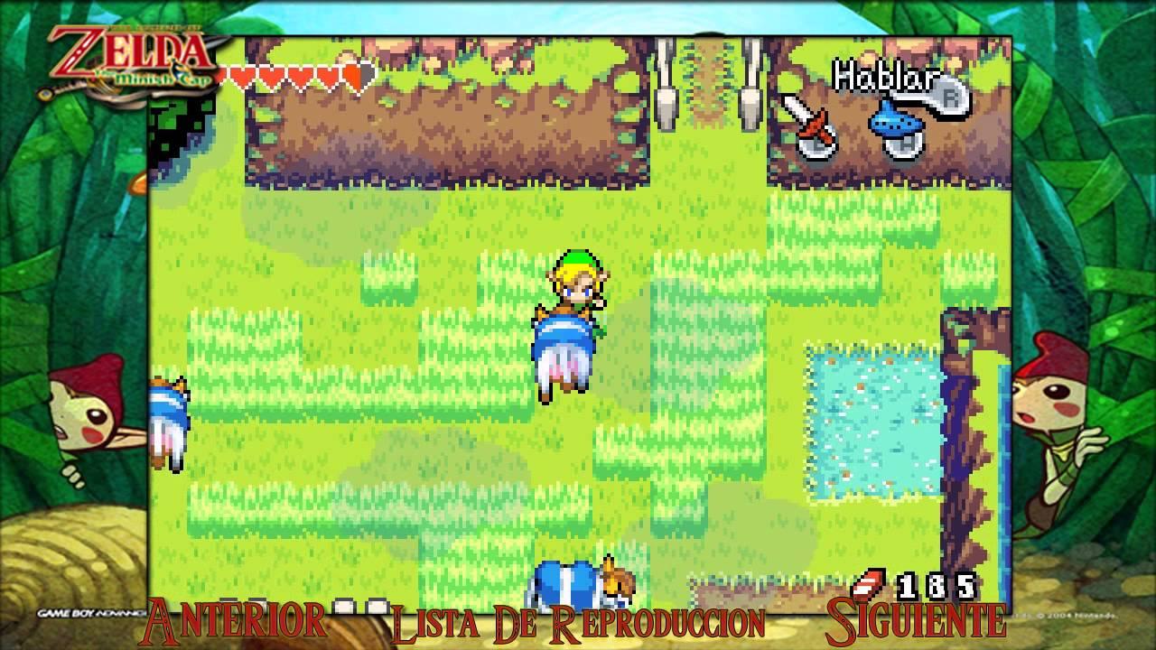 Zelda minish cap gba rom free download