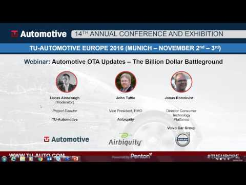 WEBINAR: Automotive OTA Updates – The Billion Dollar Battleground
