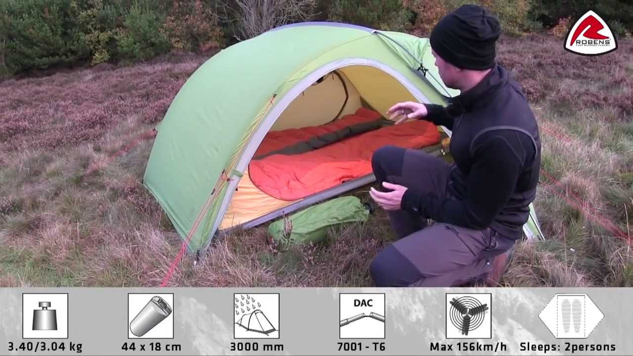 & Robens Raptor Tent | Pure Outdoor Passion - YouTube
