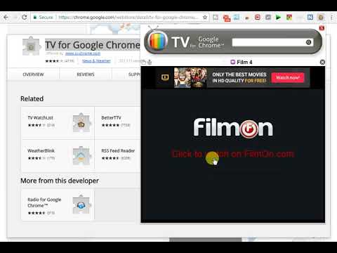 World Tv In Your Google Chrome Browser (Movies.News.Sports.Comedy.Classic.Gaming .All Channel Online