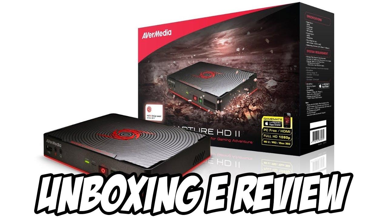 Unboxing e Review - Placa de captura Avermedia Game Capture HD 2