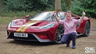 New V12 Shmeemobile SHOPPING in My Ford GT!