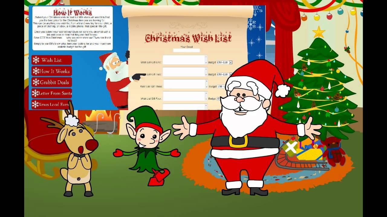FREE Christmas Wish List Online - Christmas Gift Idea's ...