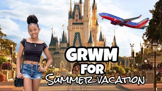 GRWM for Vacation | Summer Vacation Travel Vlog | LexiVee03