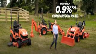 BX Kubota Tractors Spring Special at Whites Tractors