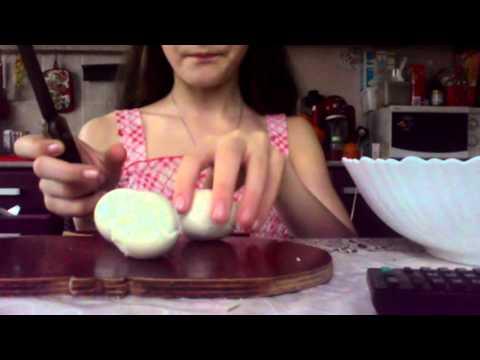 как сделать крабовый салат :)