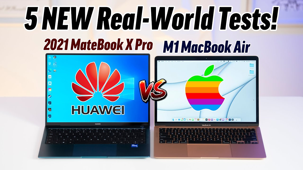 MateBook X Pro vs M1 MacBook Air - M1 Killer from China?