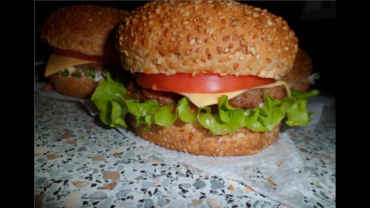 Как сделать чизбургер в домашних условиях