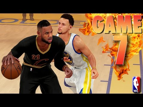 Golden State Warriors vs Cleveland Cavaliers Game 7 NBA Finals NBA 2K16 Prediction