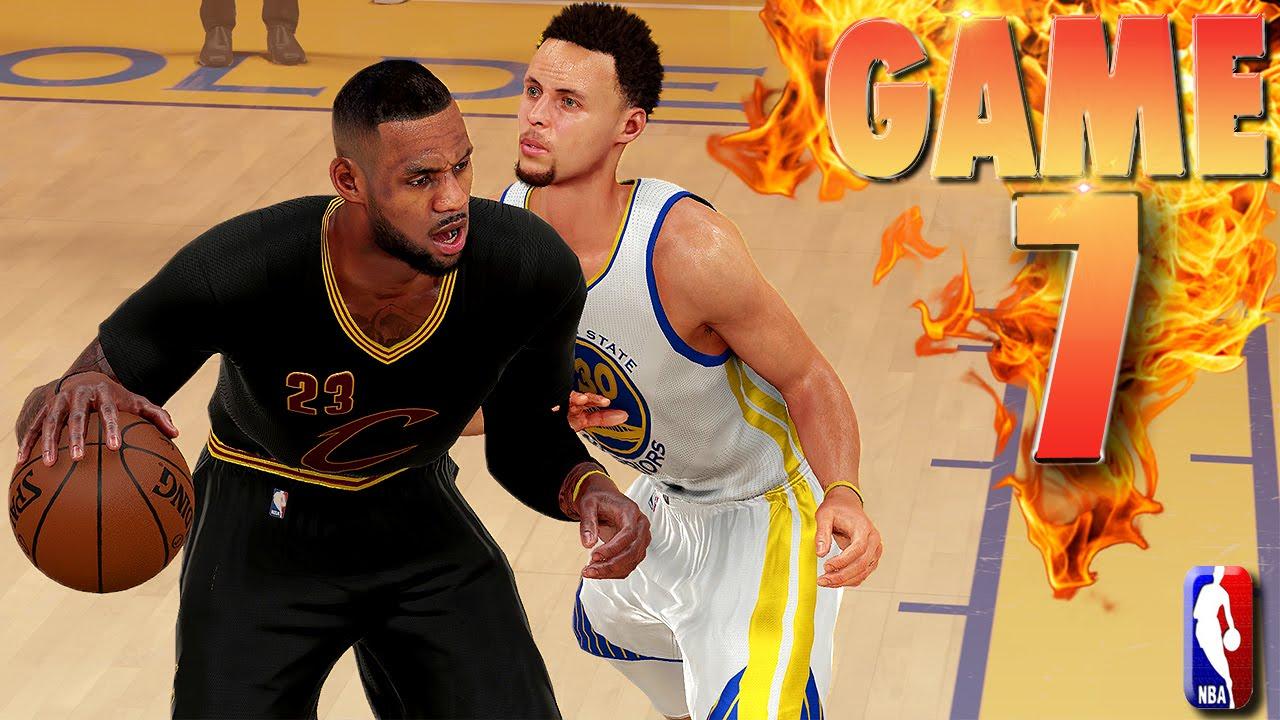 NBA finals game 7 - 2016: Cleveland Cavaliers vs. Golden ...