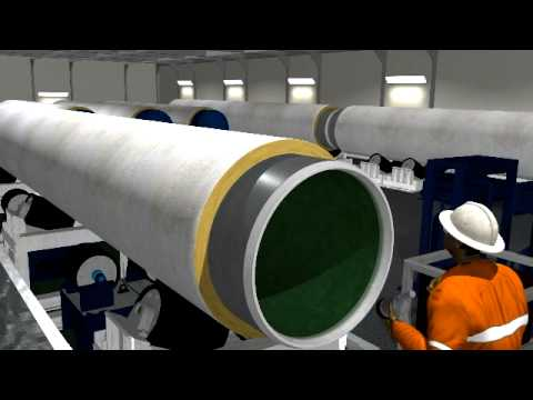 Aegion Coating Services S-Lay Barge Animation