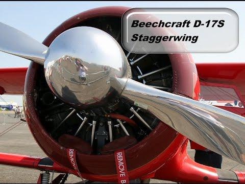 Beechcraft D 17S Staggerwing чертежи модели  35#