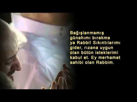 Dileklerin Kabulu İçin Dua