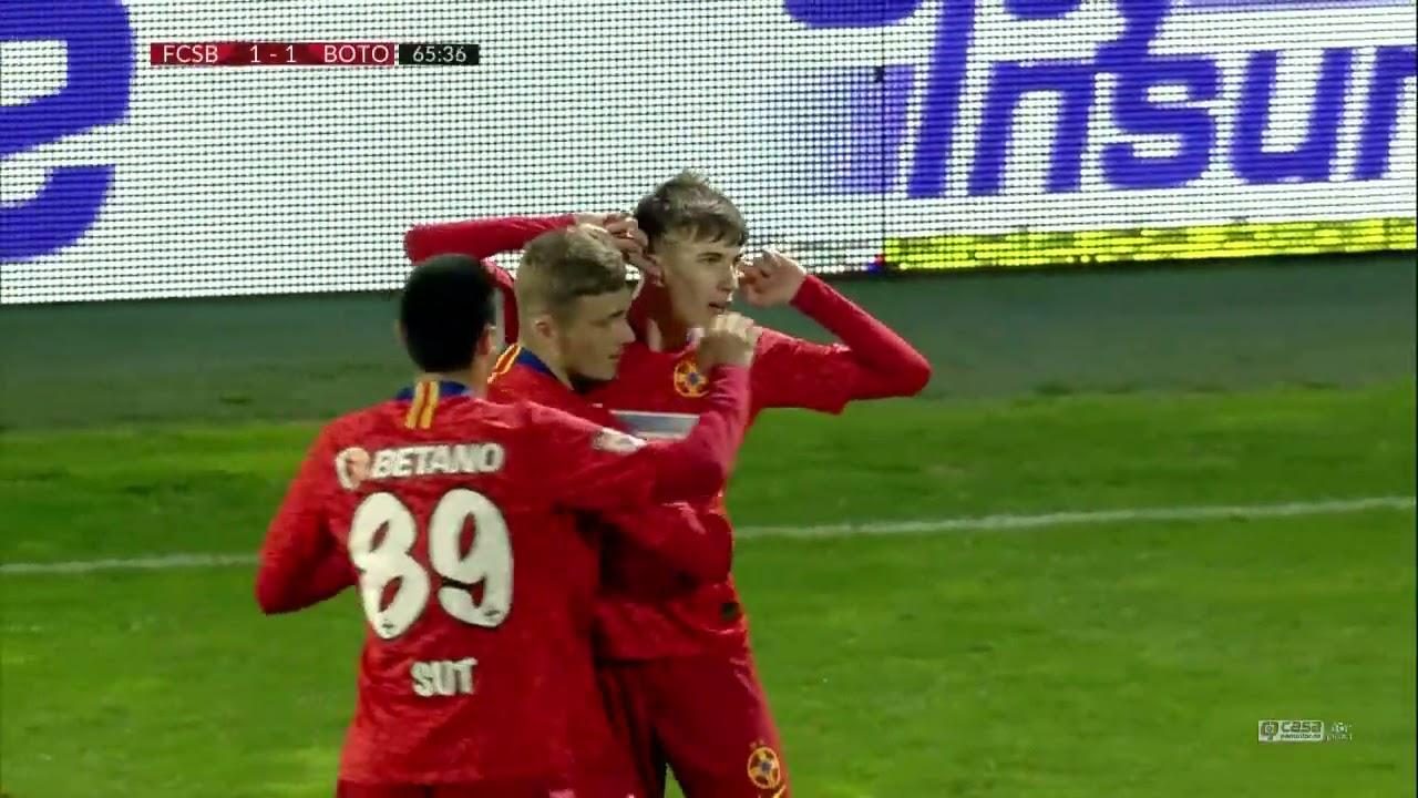 REZUMAT | FCSB - FC Botoșani 2-1 | Playoff, Etapa 1, Liga 1, 2020-2021