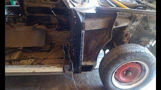 ВАЗ 2106 замена стойки передней двери