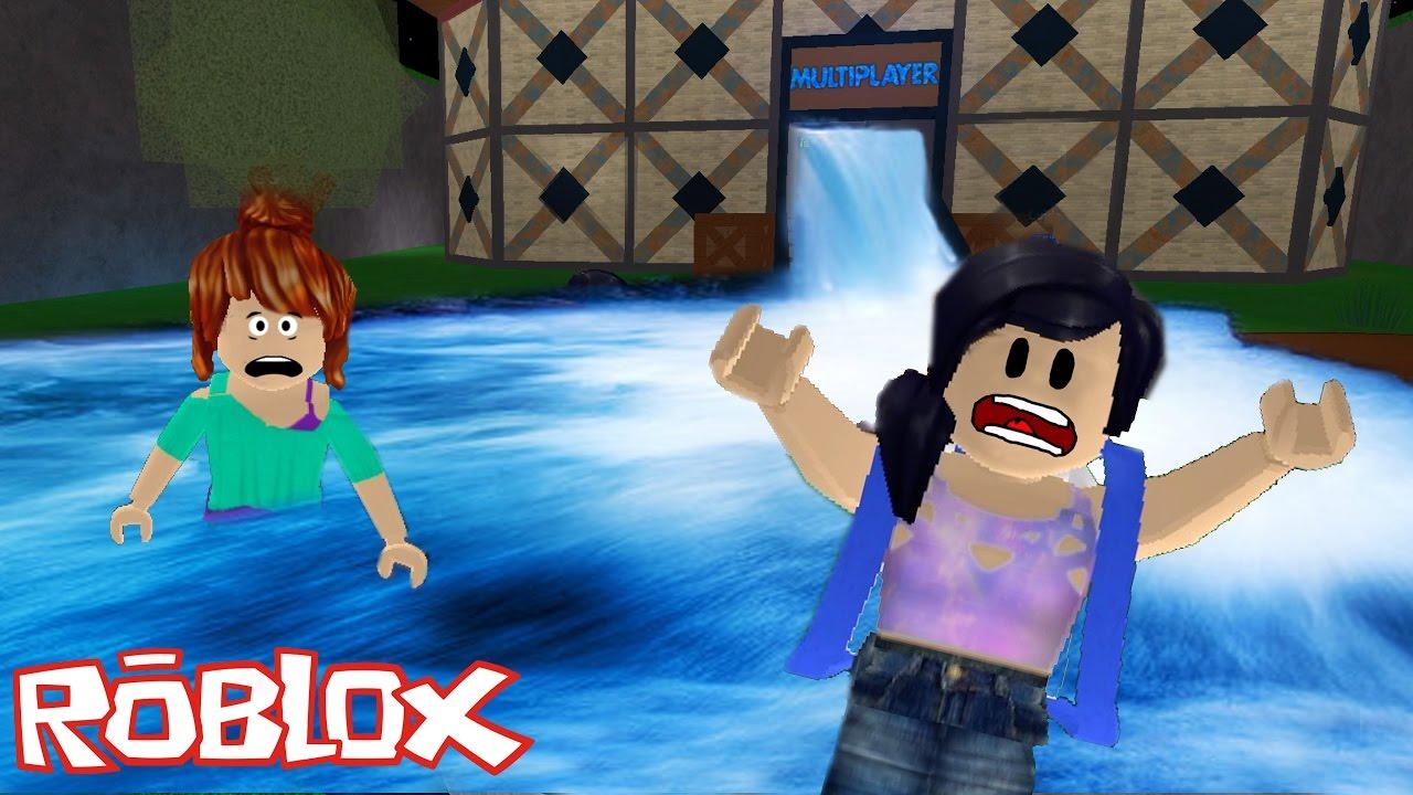 Roblox - FUGINDO DA ENCHENTE (Flood Escape) | Luluca Games