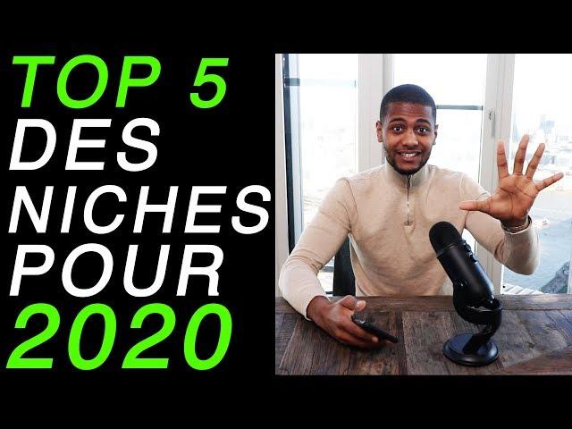 DROPSHIPPING : TOP 5 DES NICHES EN 2020 SUR SHOPIFY