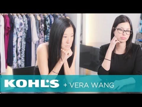Behind-the-scenes with Vera Wang for Kohl's   Kohl's
