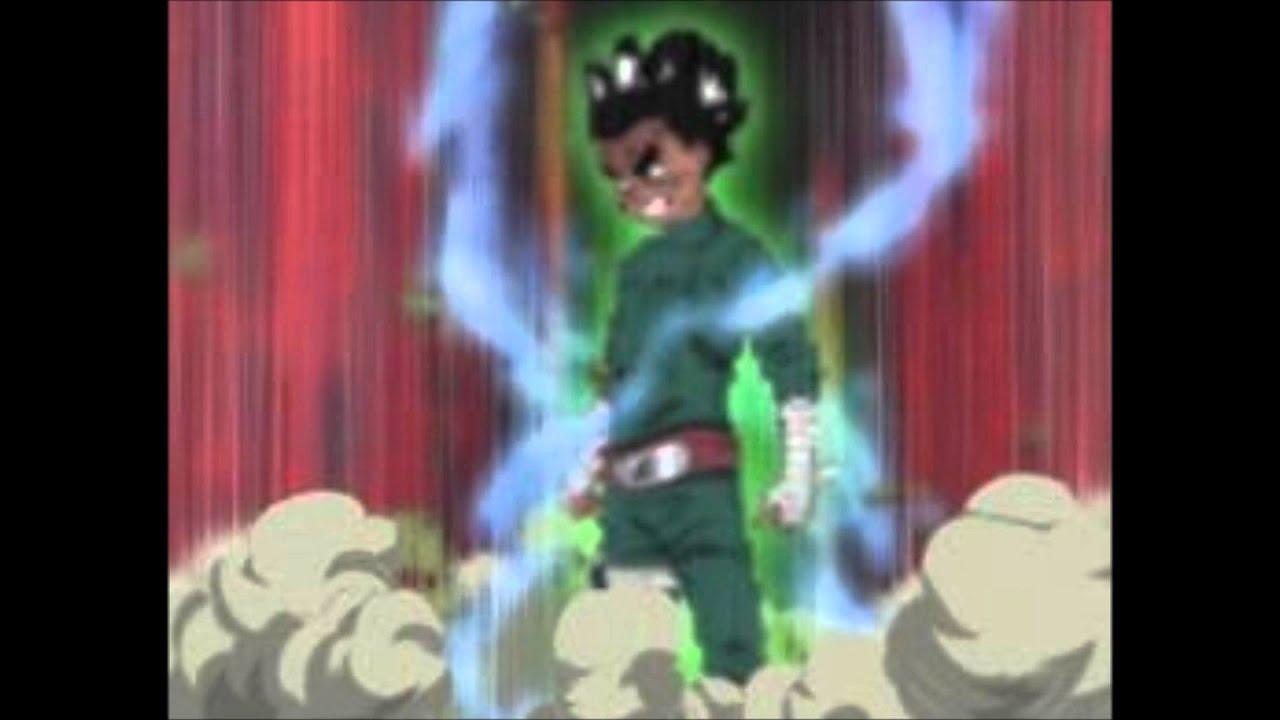 Naruto ost rock lee lotus theme youtube for Gai sensei 8 portes