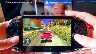 GTA Liberty City Stories Gameplay 2 - PS Vita 2019 (Native Resolution Patch SETTINGS)