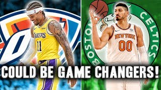 5 Buyout Candidates After The NBA Trade Deadline That Could Be Game Changers. The NBA trade deadline was filled with crazy moves such as Tobias Harris and Marc Gasol but now its time to see what teams will make a splash in the buyout market with guys available such as Enes Kanter and Michael Beasley.