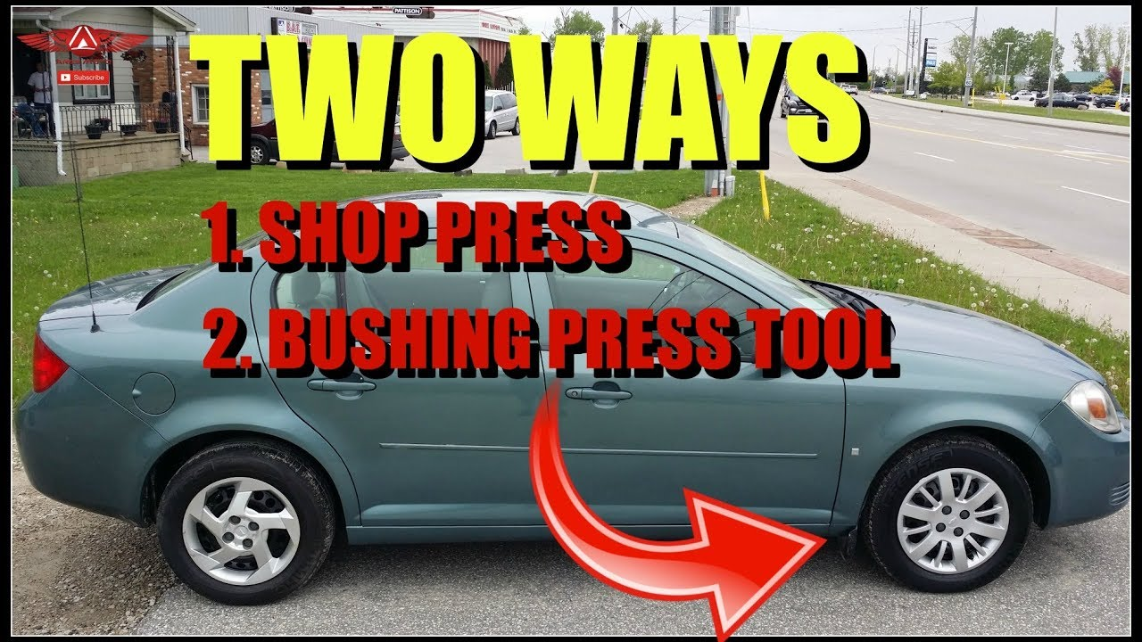 Chevy Cobalt Lower Control Arm Bushing Replacement