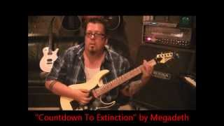 How To Play Symphony Of Destruction By Megadeth On Guitar By Mike Gross