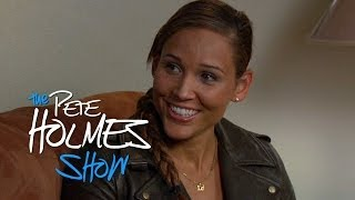 Pete Meets Olympic Bobsledder Lolo Jones