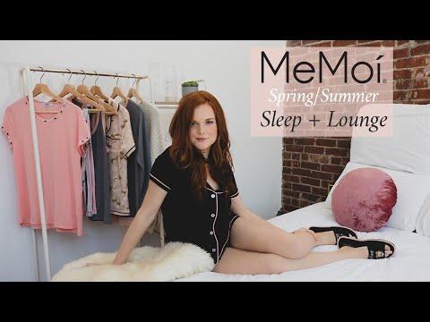 Stay at Home in Style | MeMoi Spring/Summer Sleepwear & Loungewear