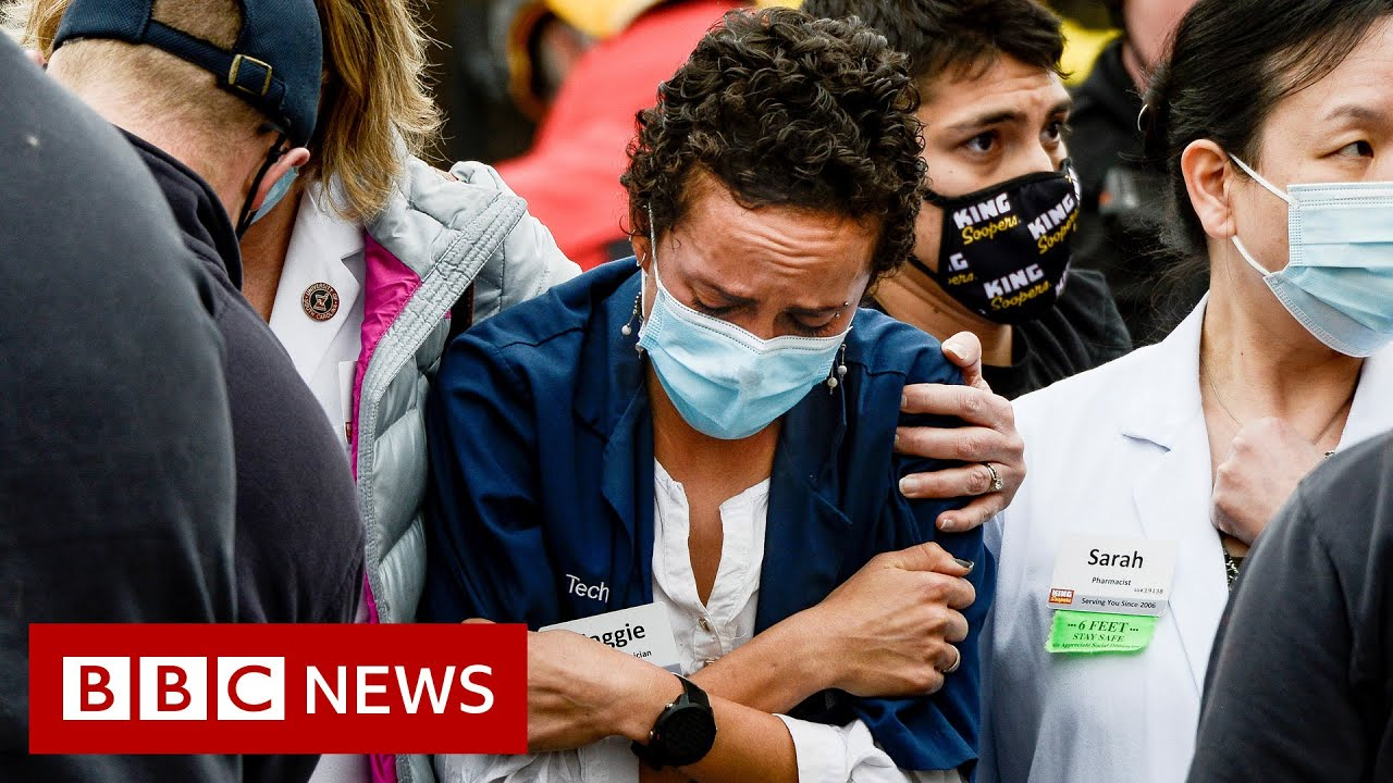 Download Ten people killed in grocery store shooting in Colorado, US  - BBC News