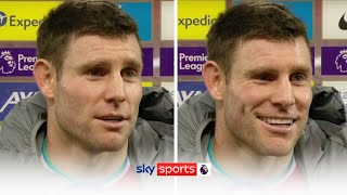 James Milner reacts to a door being named after him at Liverpool's new training ground 🤣🚪