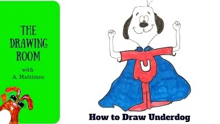 How to draw Underdog - draw cute heros