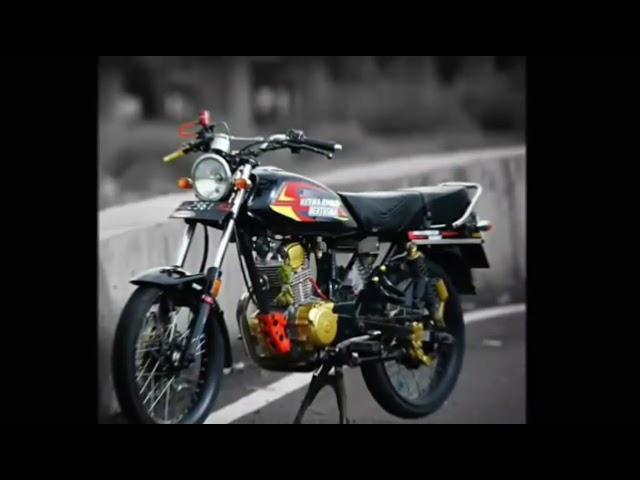 Modifikasi Honda plat gl Series engine Jari Jari Part 1