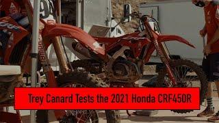 Trey Canard: Testing the 2021 Honda CRF450R