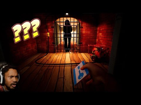 WHO IS THE NEIGHBOR REALLY LOCKING UP!? | Hello Neighbor #4