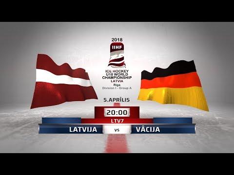 | LATVIA - Germany | 2018 IIHF Ice hockey U18 World Championship Division 1, Group A